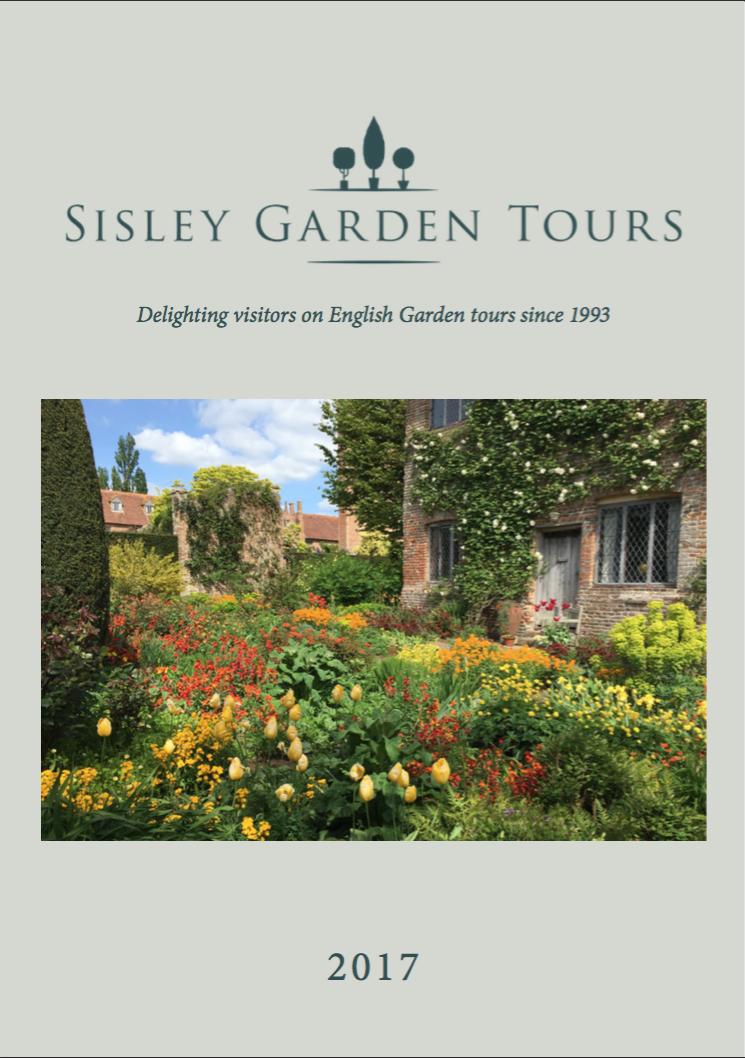 English Garden Tours 2017 Brochure From Sisley Garden Tours
