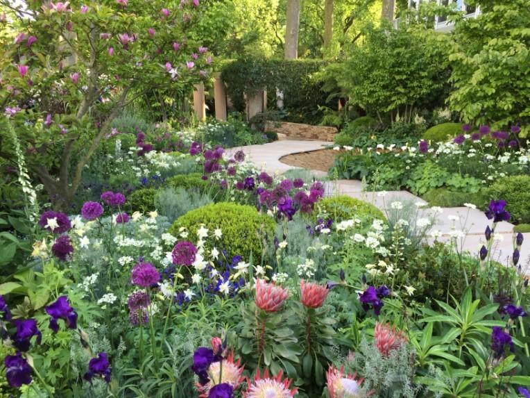 Sisley garden tours english garden tours 2018 - Chelsea garden show ...