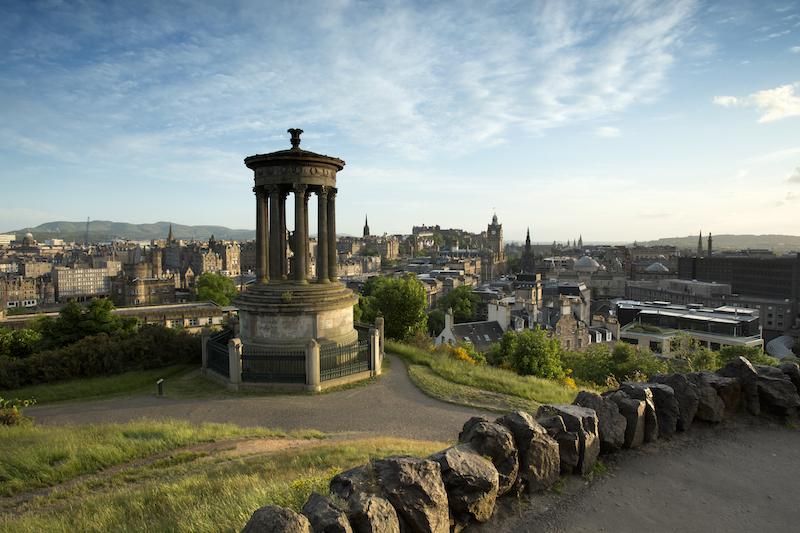 Edinburgh from Calton Hill.