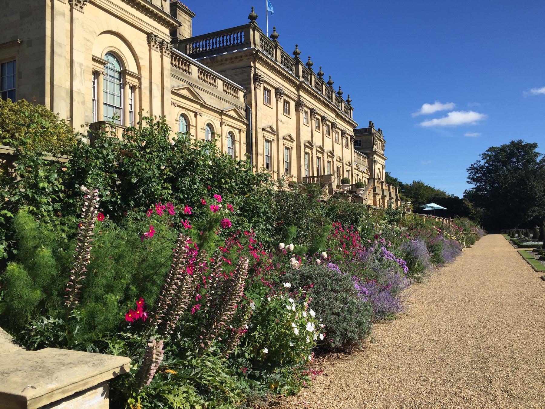 Garden personalities garden designers and gardeners of note for Harewood house garden design