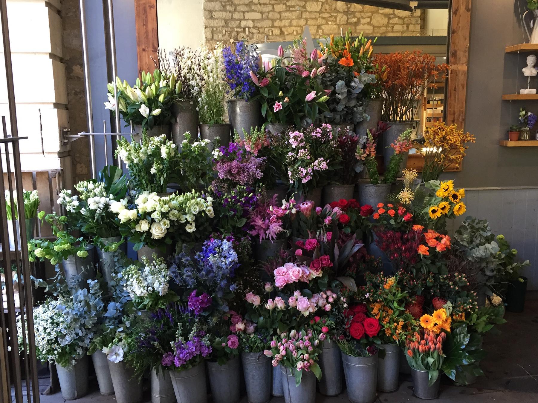 Bath - florist shop