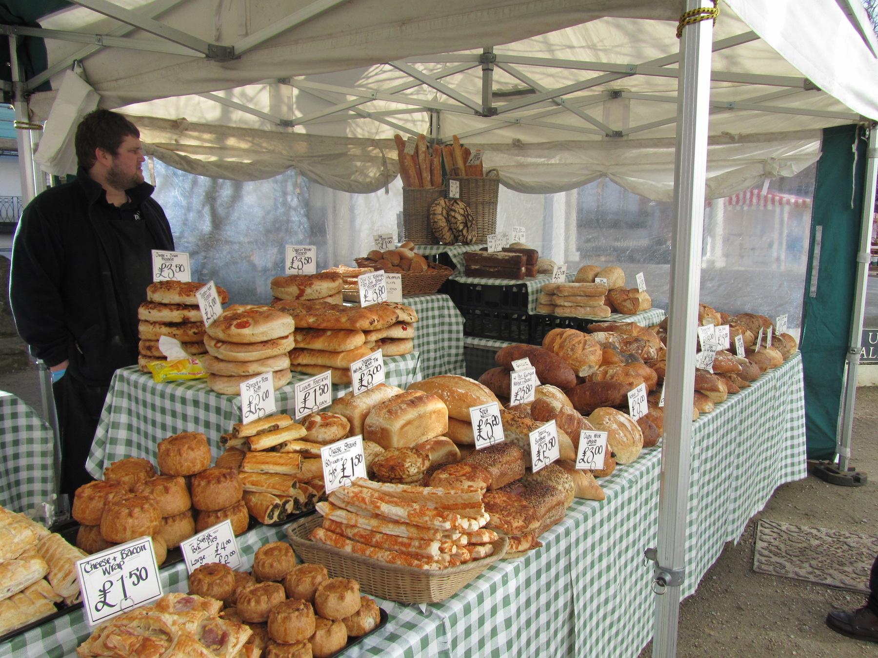 Market stall, Tunbridge Wells