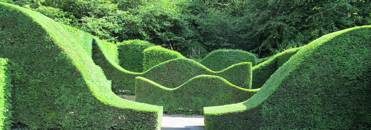 Veddw House Gardens
