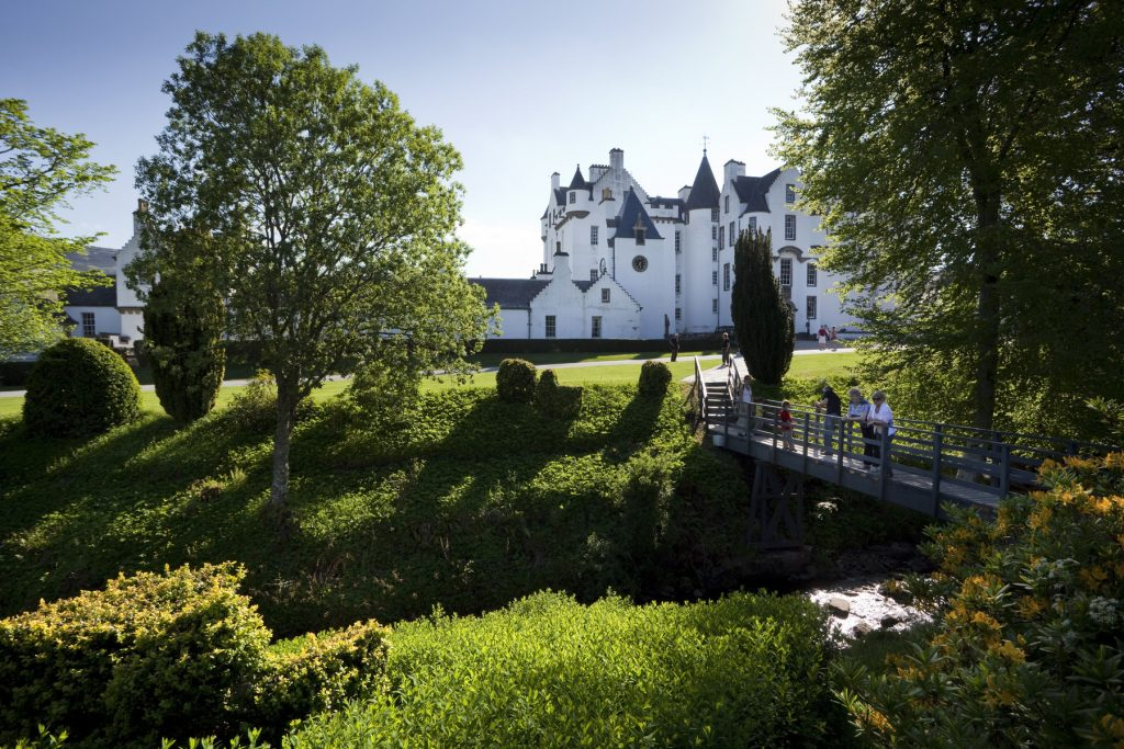 Blair Castle Credit Paul Tomkins / VisitScotland