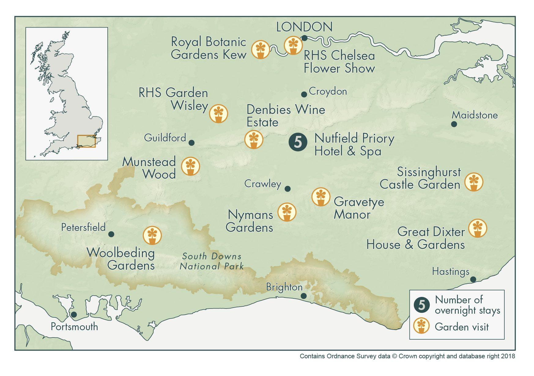 RHS Chelsea Flower Show & Iconic English Gardens