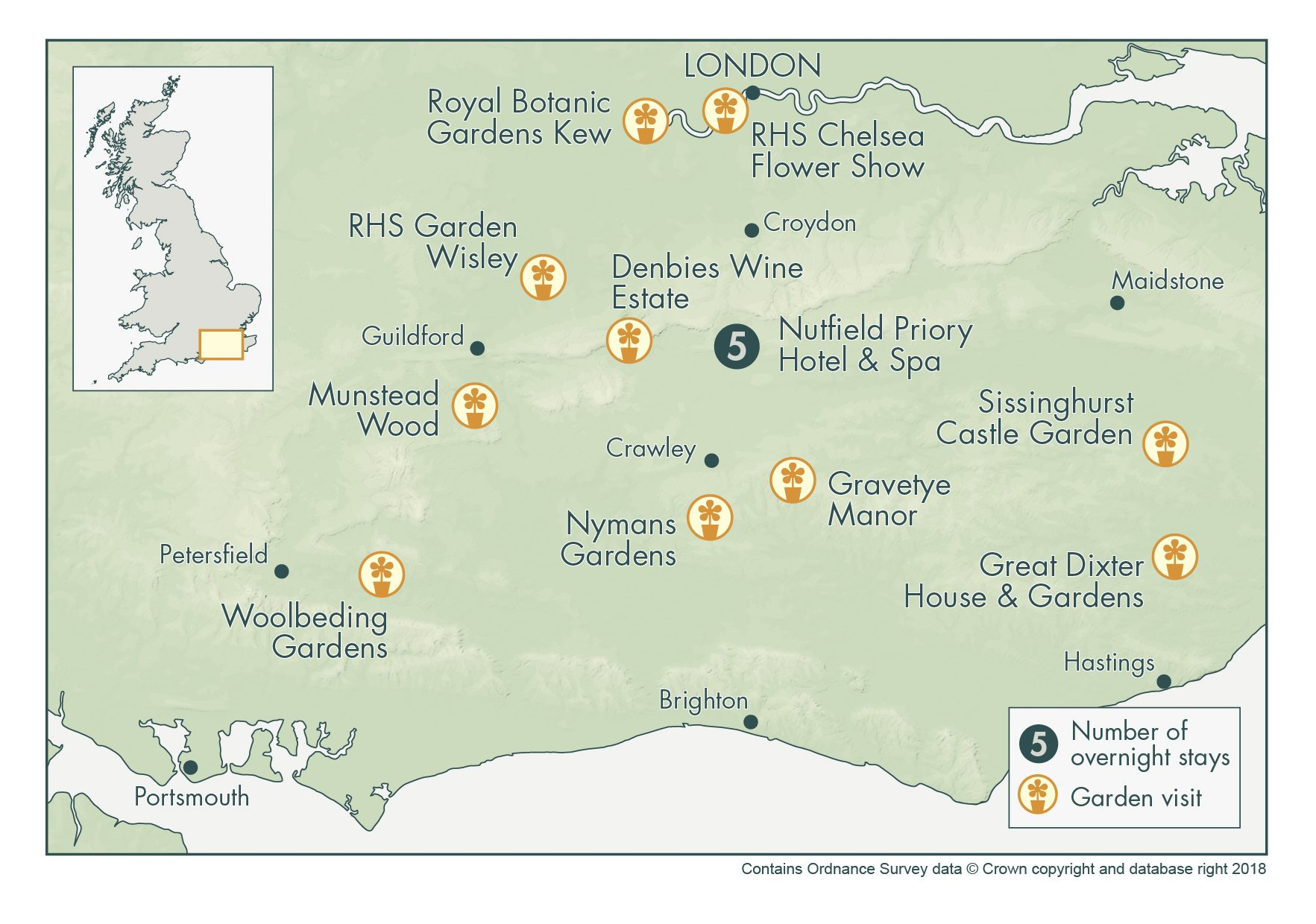 RHS Chelsea Flower Show and Iconic English Gardens