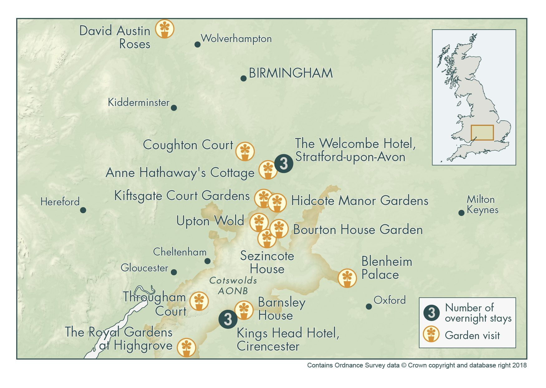 Cotswold Exclusive with The Royal Gardens at Highgrove