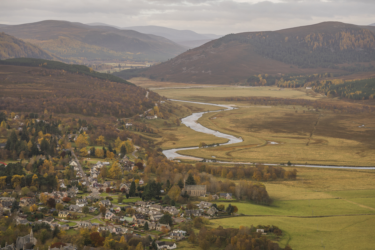 The village of Braemar,