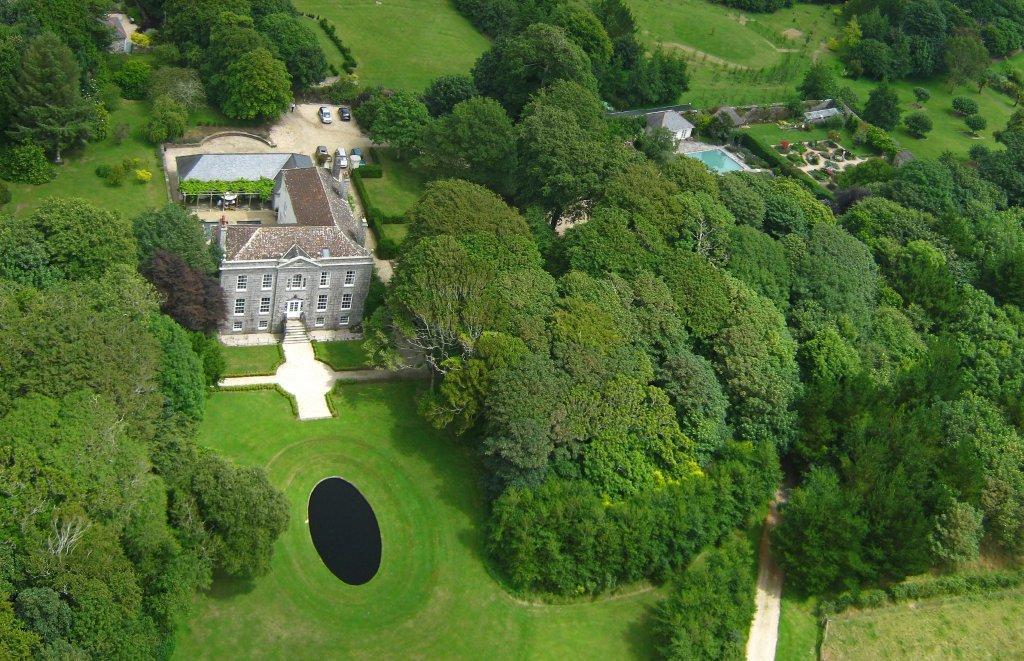 Bonython Manor aerial shot