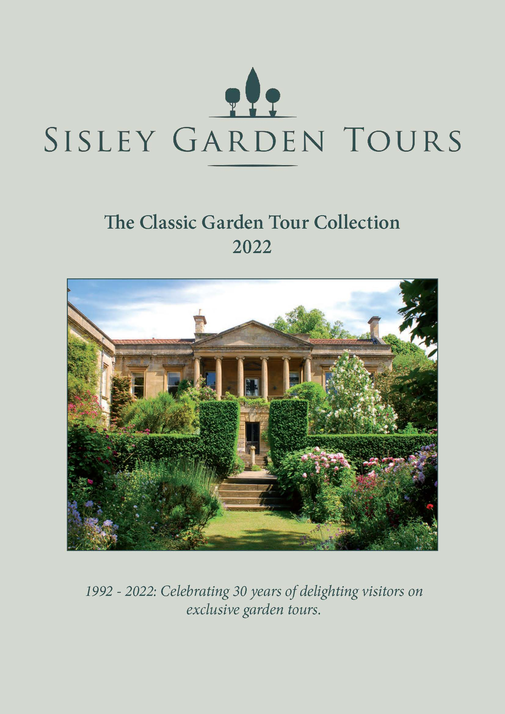 Sisley_Garden_Tours_Brochure_2022_Front cover