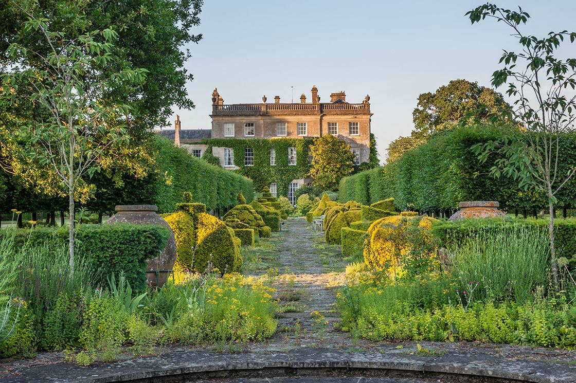 Colourful garden at Aston Pottery